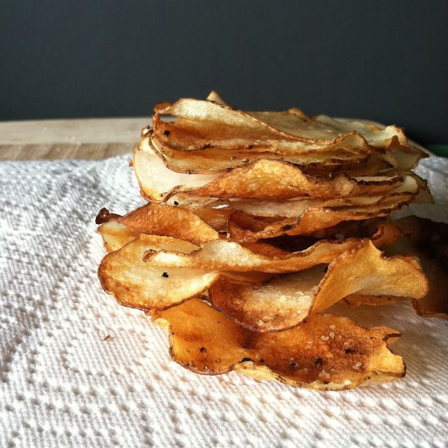 Wendy See Wendy Do: Oven-Fried Salt & Vinegar Potato Chips