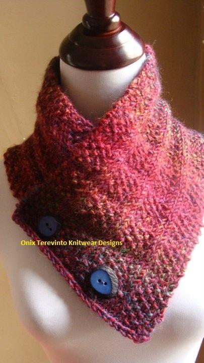 Knitted Neck Warmer Free Pattern : knitting: neck warmer FREE pattern Knit - Scarfs Pinterest