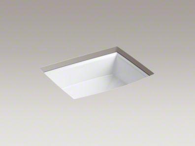 Archer? Under-mount bathroom sink K-2355-0 $157.60 Height 7-1/2 ...