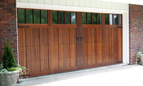 Garage door overlay kits