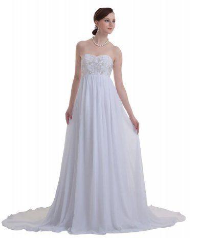 Simple cheap wedding dresses under