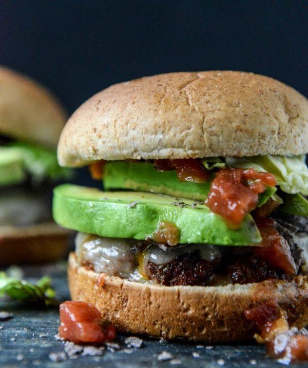 Taco Burger | Favorites - Soups,Salads & Sandwiches | Pinterest