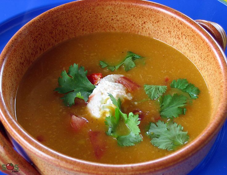 SOSCuisine: Spicy #Sweet Potato Soup A delicious and healthy soup of ...