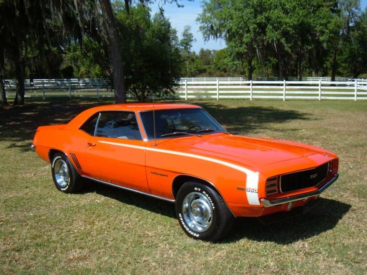 1969 Chevrolet Camaro Rs Hugger Orange Cars Pinterest
