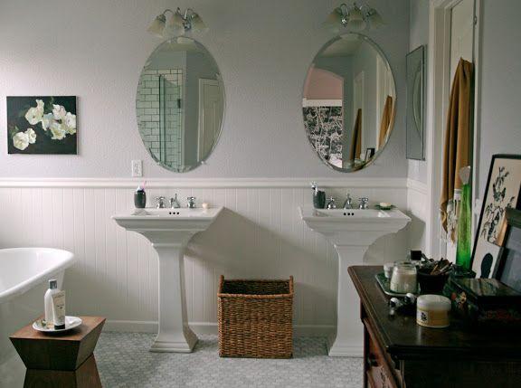 His and hers sink - stephmodo Bathroom inspiration Pinterest
