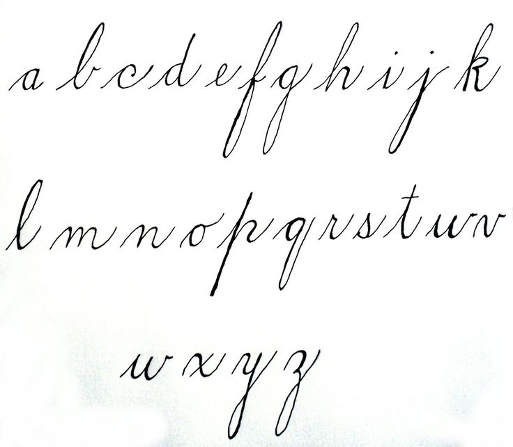Spencerian Letters Fonts And Lettering Pinterest