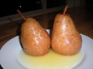 Honey Poached Pears: A Celebration Post! | My Paleo CrockPot
