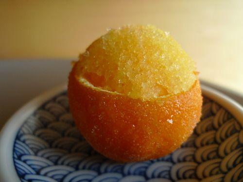 clementine granita | favorite recipes | Pinterest