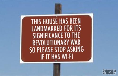 honest info sign landmarked