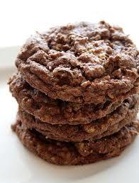 Oatmeal, Peanut Butter, & Chocolate Cookies (Gluten Free)
