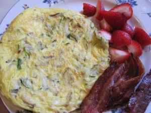 Zucchini-and-Potato-Frittata-GFCFSF | Breakfast and Brunch | Pinterest