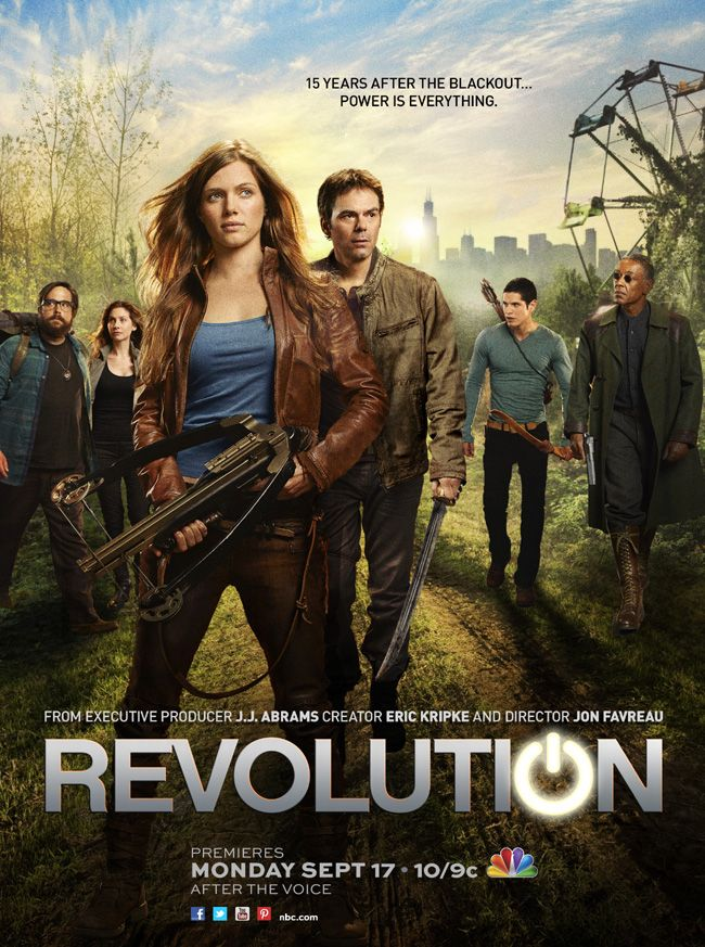 """Win advance-screening TV passes to the pilot of NBC's """"Revolution"""" from """"Iron Man"""" director Jon Favreau and executive producer J.J. Abrams (""""Star Trek"""") courtesy of HollywoodChicago.com! Win here: http://ptab.it/7HlO"""