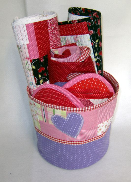 quilted valentine gifts