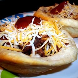 Grands!(R) Biscuit Taco Cups Allrecipes.com - I filled these with ...