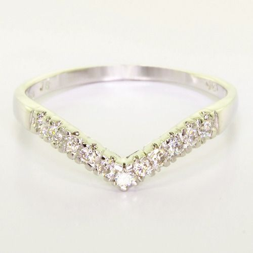 v shape wedding ring wedding pinterest
