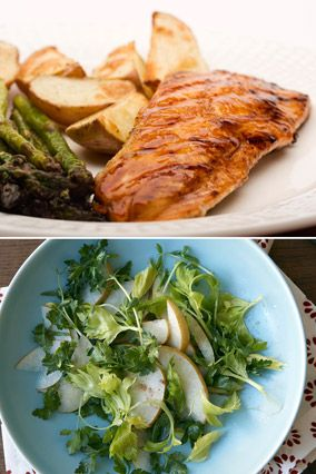 What to serve with salmon for What side dishes go with fish