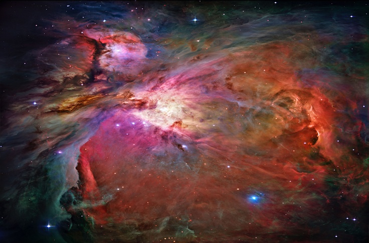 Galactic nebula space wallpaper mural for Space wallpaper mural