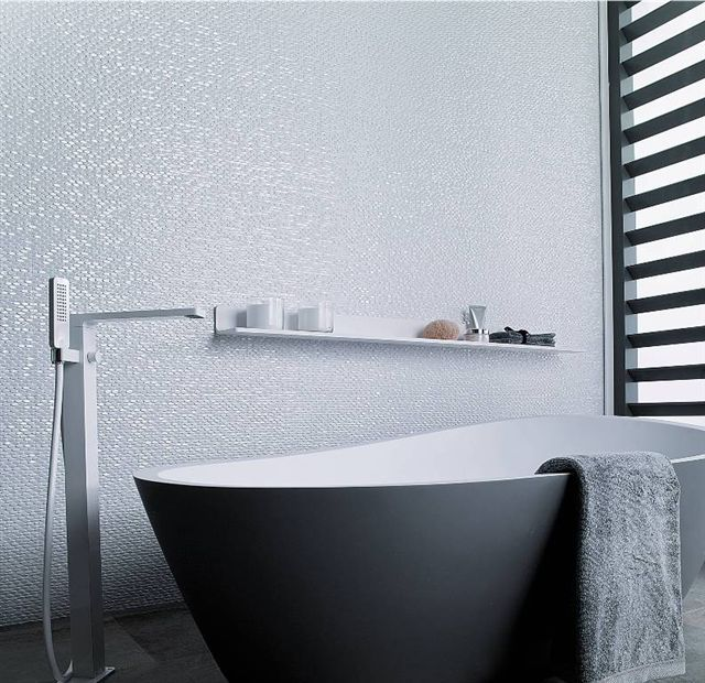 Bathroom 3d tiles interior pinterest for 3d bathroom planner tiles
