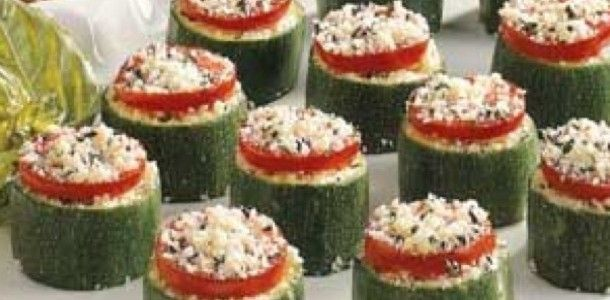 Bitty Zucchini Bites with Cheese | Sides | Pinterest