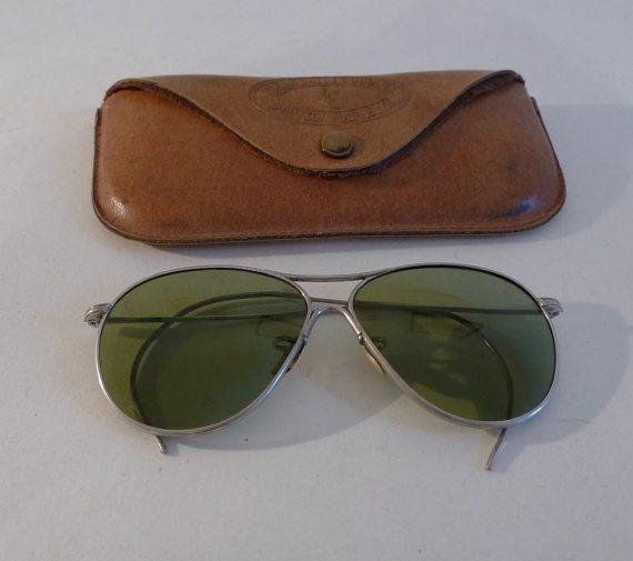 American Optical Original Aviator Sunglasses Metal by BibbysRocket