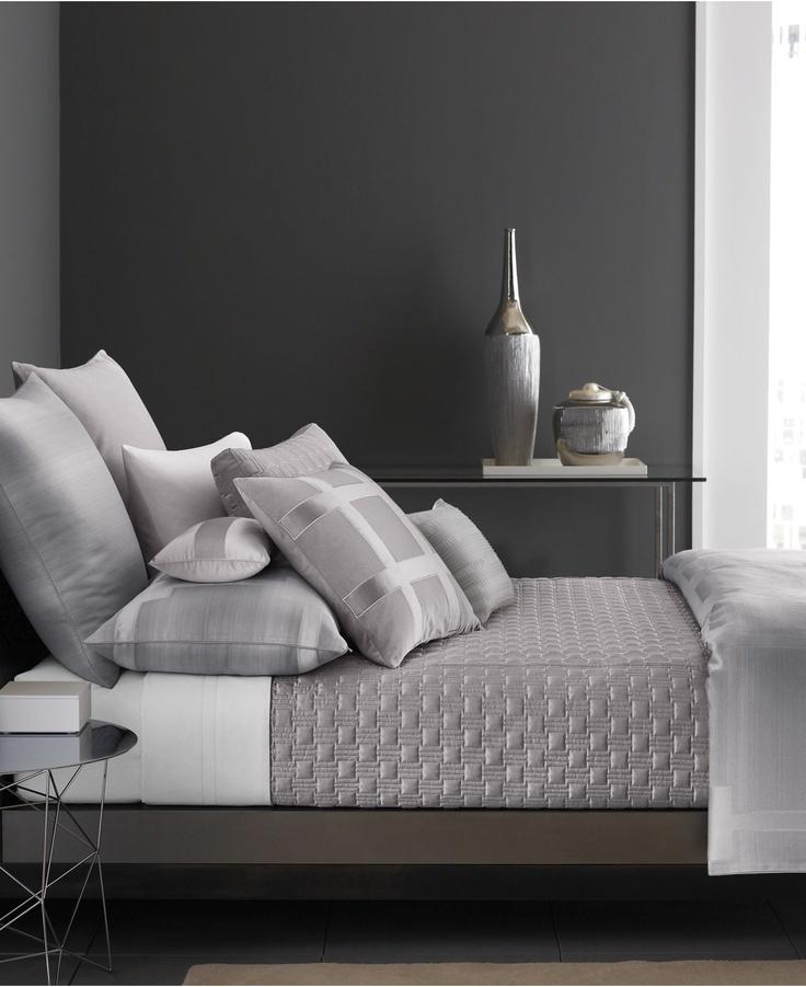 Hotel Collection Meridian Quartz Grey Full Queen Duvet Cover Ebay