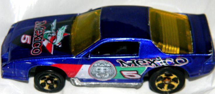 Hot wheels camaro z 28 1983 car with the mexico 5 tampoo for 9 salon hot wheels mexico
