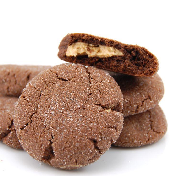 Chocolate Peanut Butter Surprise Cookies | Recipe