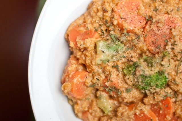 Vegetable Couscous + Cheeze Sauce | Recipes | Pinterest