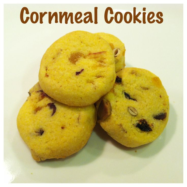 Cornmeal Cookies | My Creations | Pinterest
