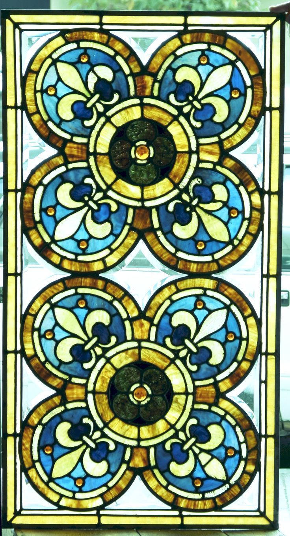 fleur de lis stained glass fleur de lis pinterest. Black Bedroom Furniture Sets. Home Design Ideas