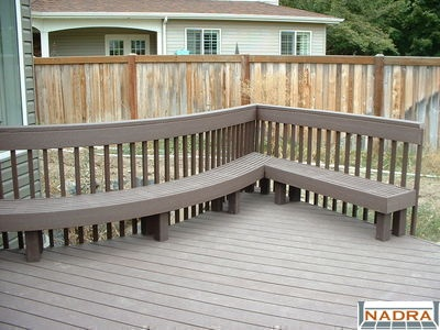 I Like The Trex Bench Deck And Outdoor Pinterest