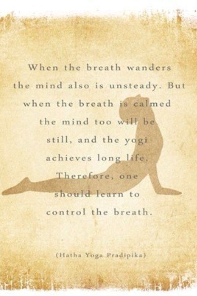 yoga quotes about breath - photo #1