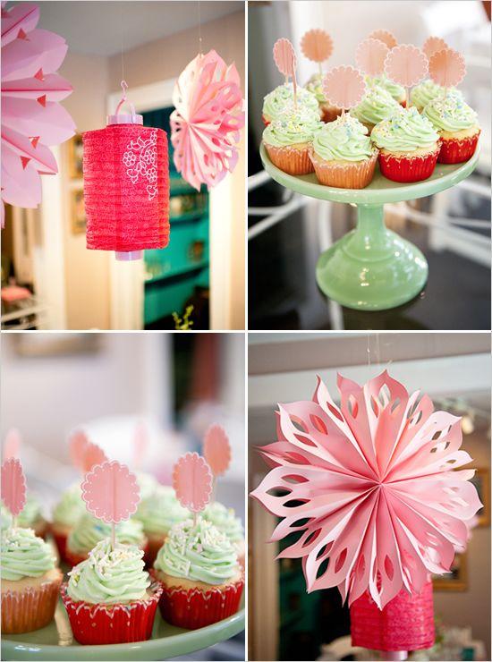 strawberry shortcake bridal shower or baby shower