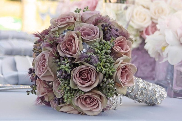 Lovely Dusky Pink Bouquet