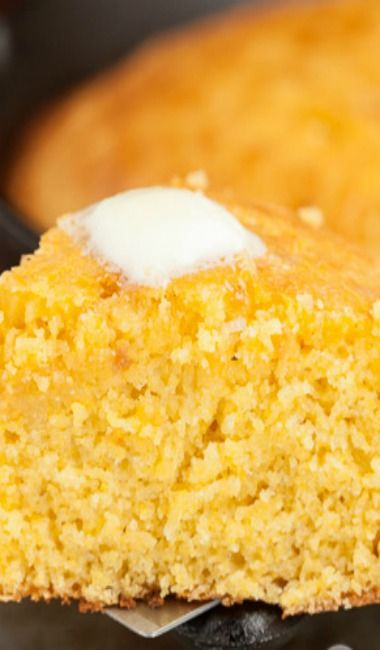 Sweet Honey Cornbread Recipe — Dishmaps
