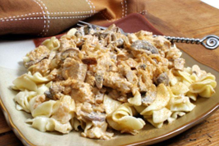 Chicken Stroganoff Recipe   Recipes   Pinterest