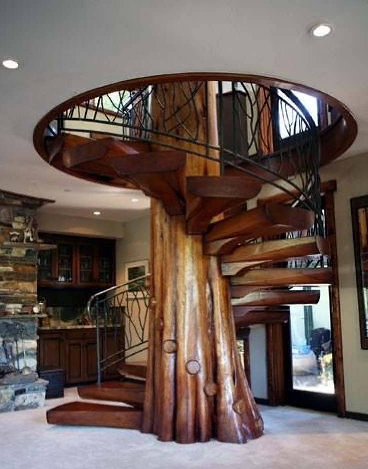 Best Tree Spiral Staircase Architechture Pinterest 400 x 300
