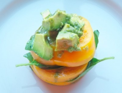 Avocado, Heirloom Tomato Salad | Avocado ♥ers | Pinterest