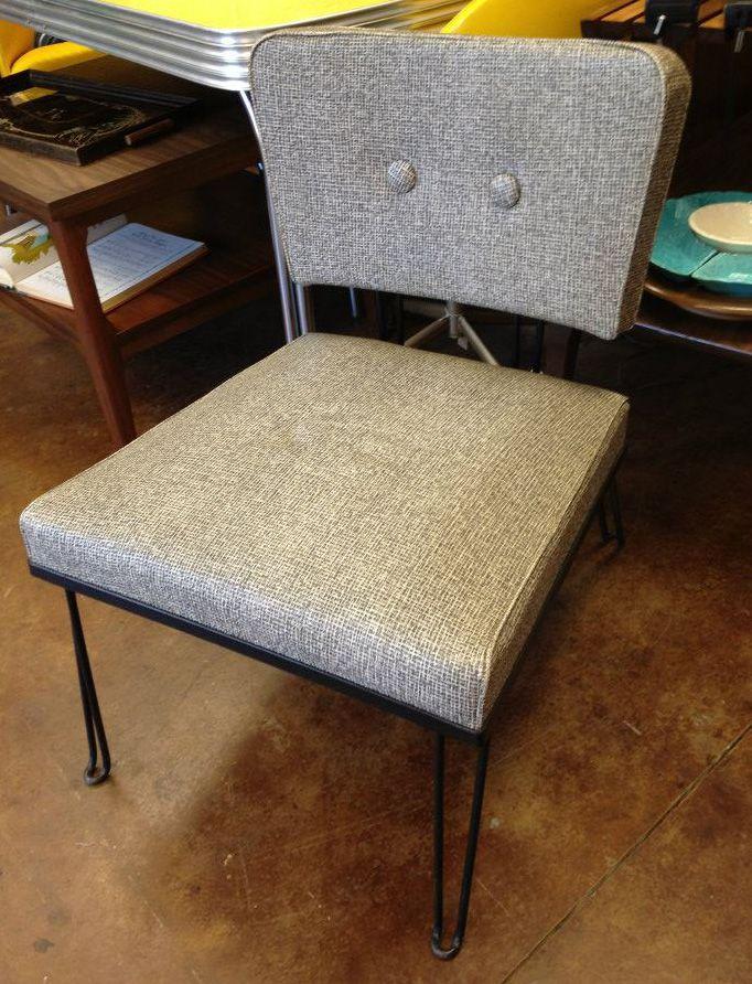 Retro slipper chair in my living room mcm love pinterest