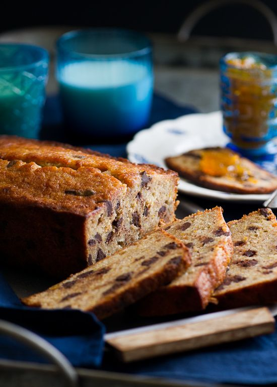 Orange Spiced Chocolate Banana Bread Recipe on WhiteOnRiceCouple.com