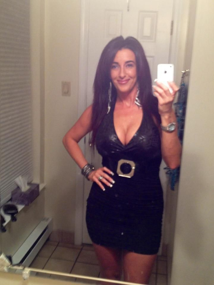 brown haired milf