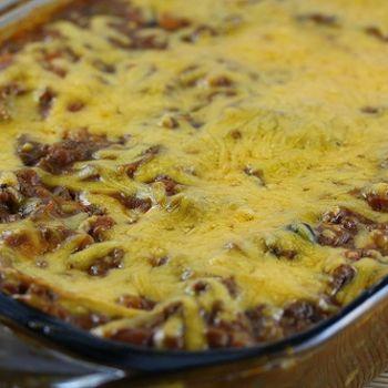 Burrito Pie Recipe - From ZipList & Cully's Kitchen