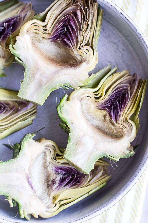 ... Fried Lemony Artichokes with Asparagus Pistachio Pesto Pasta | Re