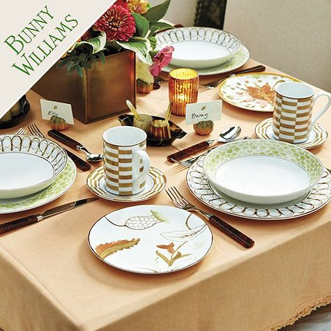 Bunny Williams Melange Dinnerware Set