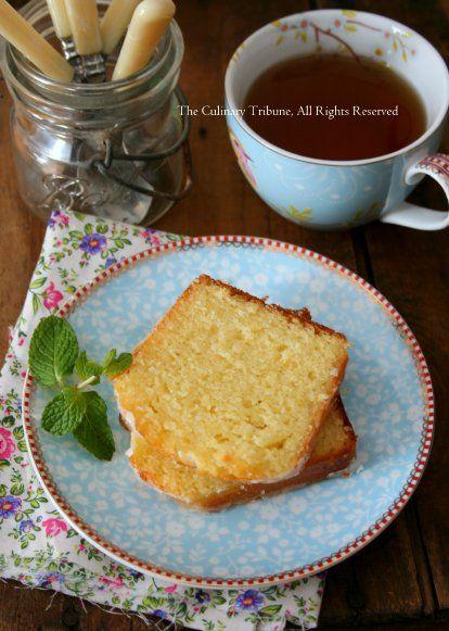 Grapefruit Yogurt Cake | Culinary Tribune | Pinterest