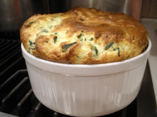 Recipe for spinach souffleSpinach souffle - The Boston Globe
