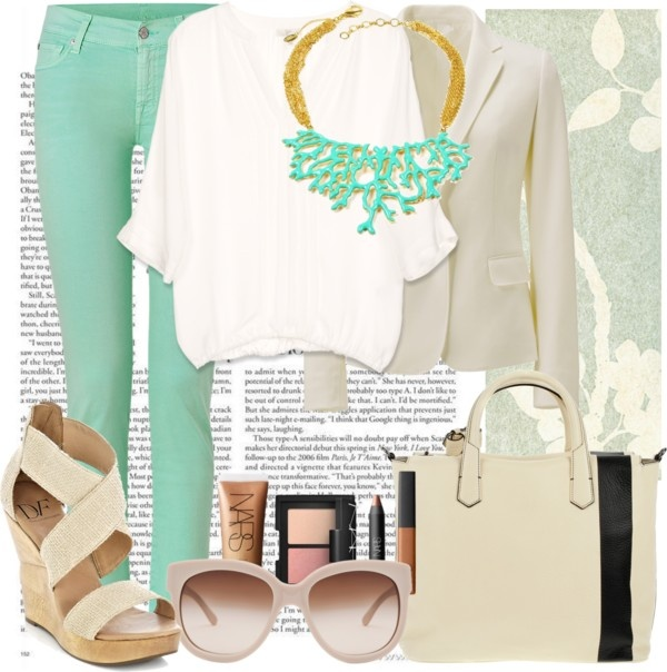 """""""Mint obsession"""" by chateaudejo on Polyvore"""