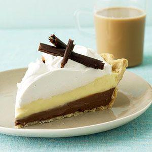 black bottom pie is the best of both worlds chocolate vanilla