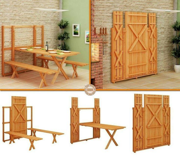 Fold away table i love pinterest - Fold away table ...