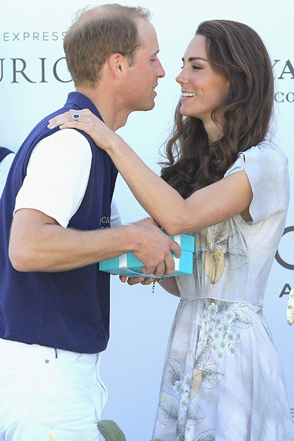 The usually reserved duo showed some PDA at the  Foundation Polo Challenge in Santa Barbara. #willandkate